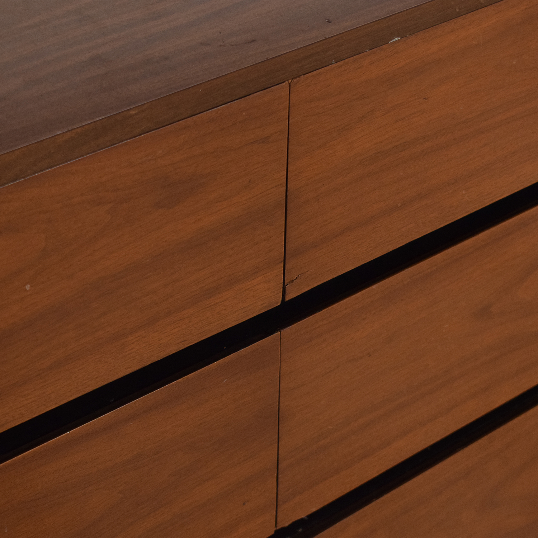Mid Century Dresser with Shelves