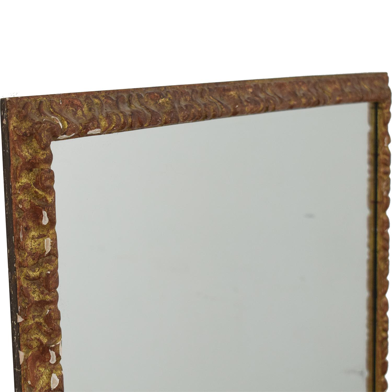 Large Framed Mirror used