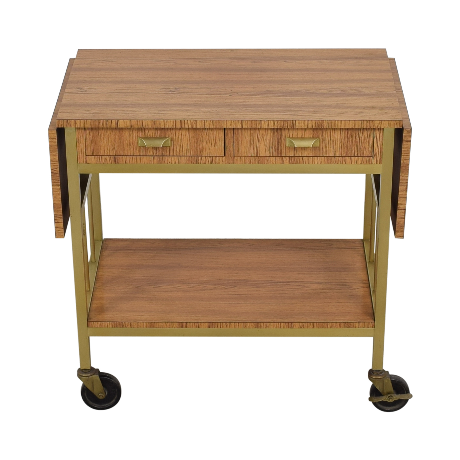 Rolling Tea Cart with Storage on sale