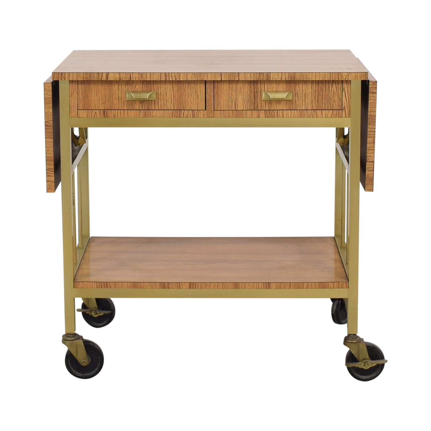 buy Rolling Tea Cart with Storage