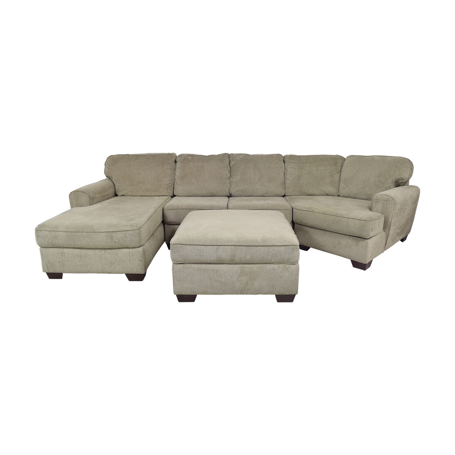 Ashley Furniture Ashley Furniture Patola Park Sectional with Chaise and Cuddler on sale