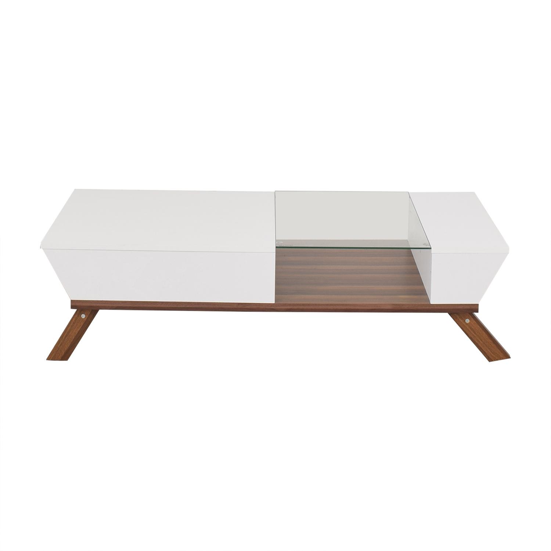 shop AllModern AllModern Soto Coffee Table with Storage online