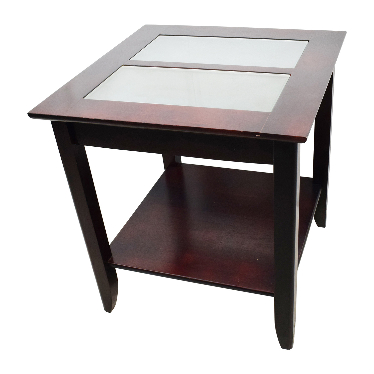 85 off target target glass and wood coffee table tables Coffee tables glass