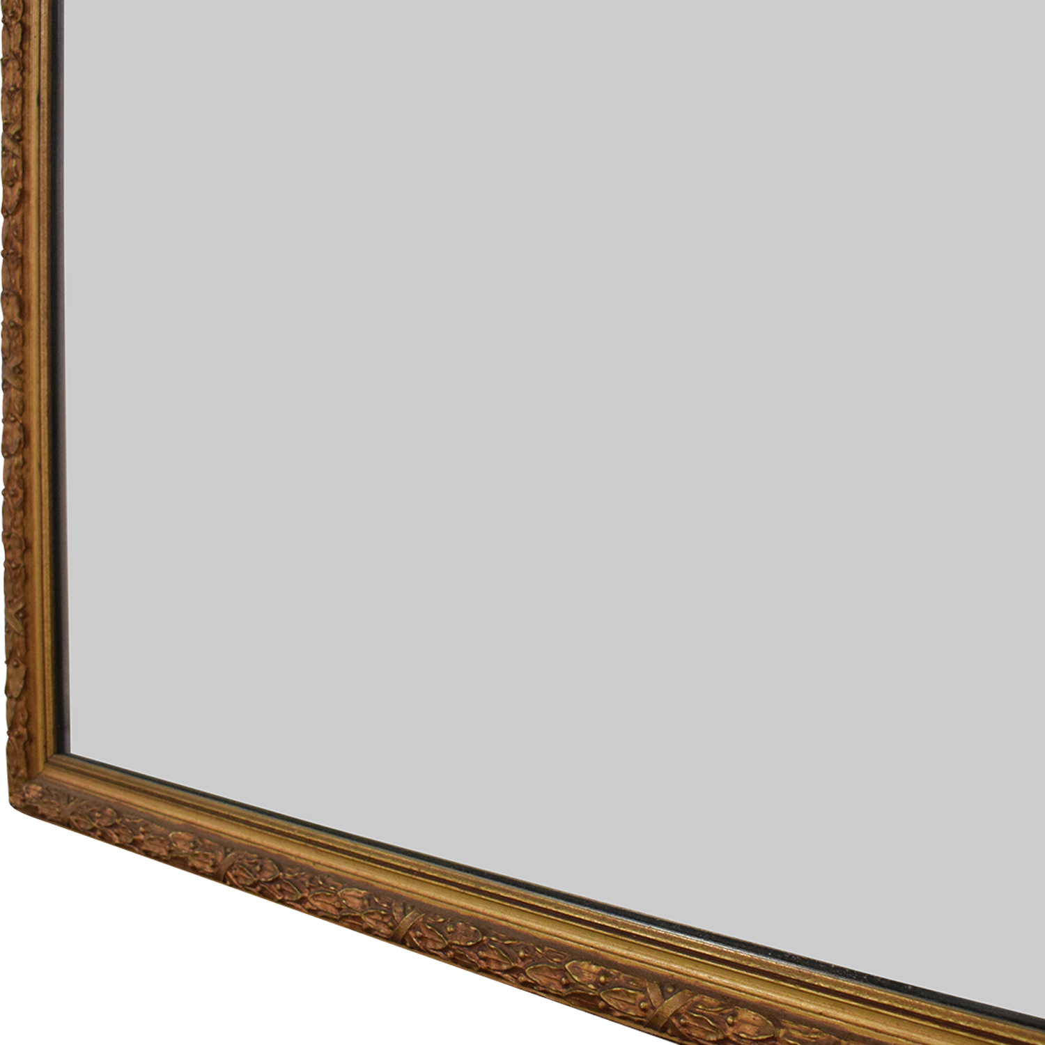 White Seid Products Vintage Framed Mirror Mirrors