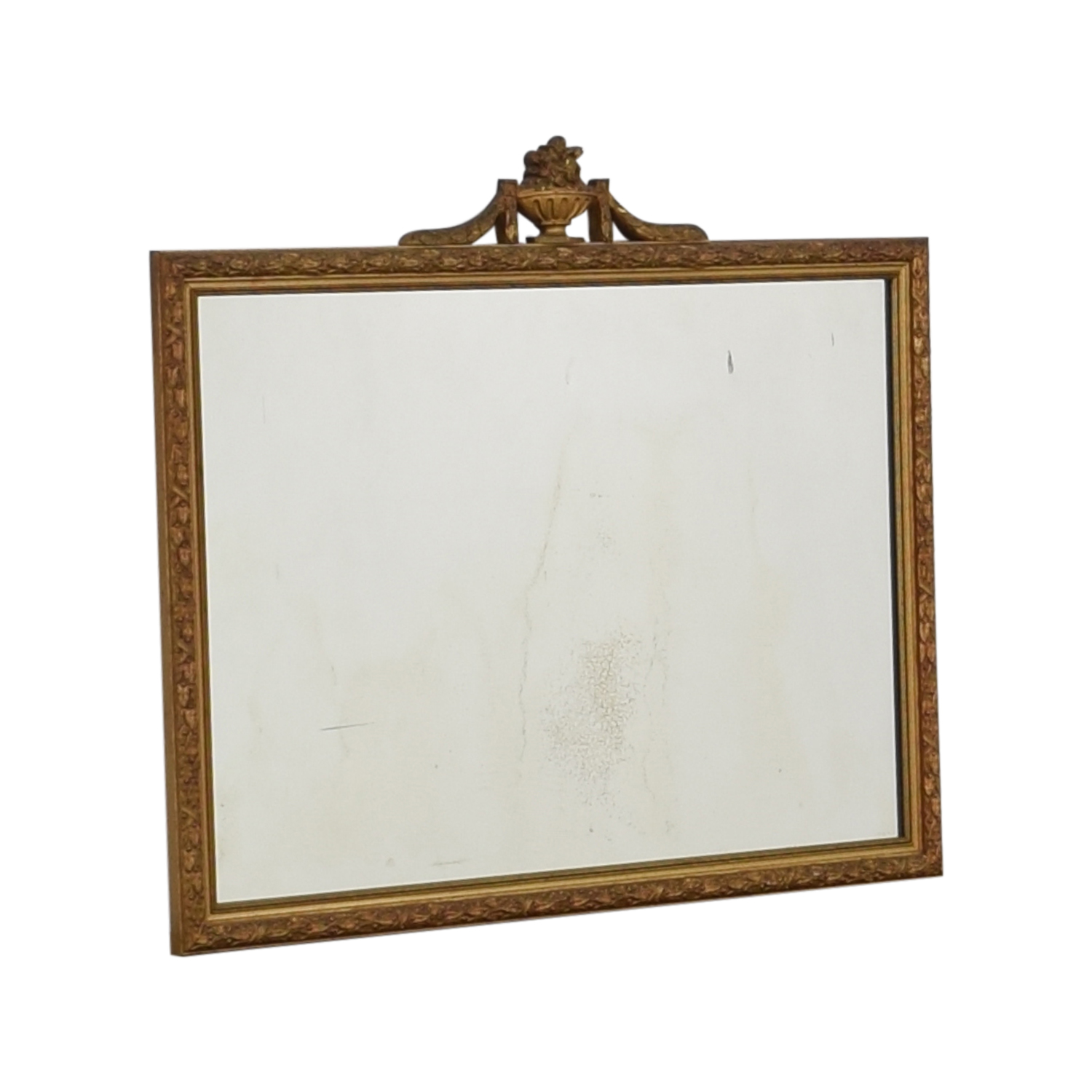 buy White Seid Products Vintage Framed Mirror