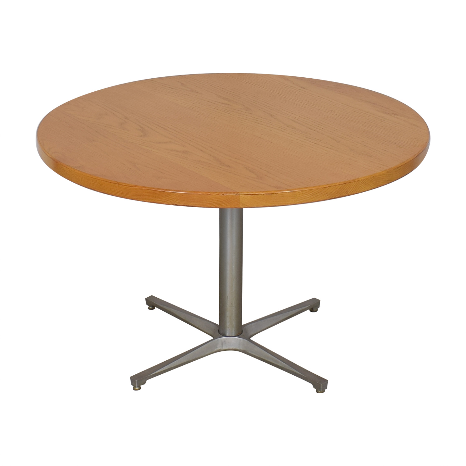 shop Mid Century Style Round Dining Table  Dinner Tables