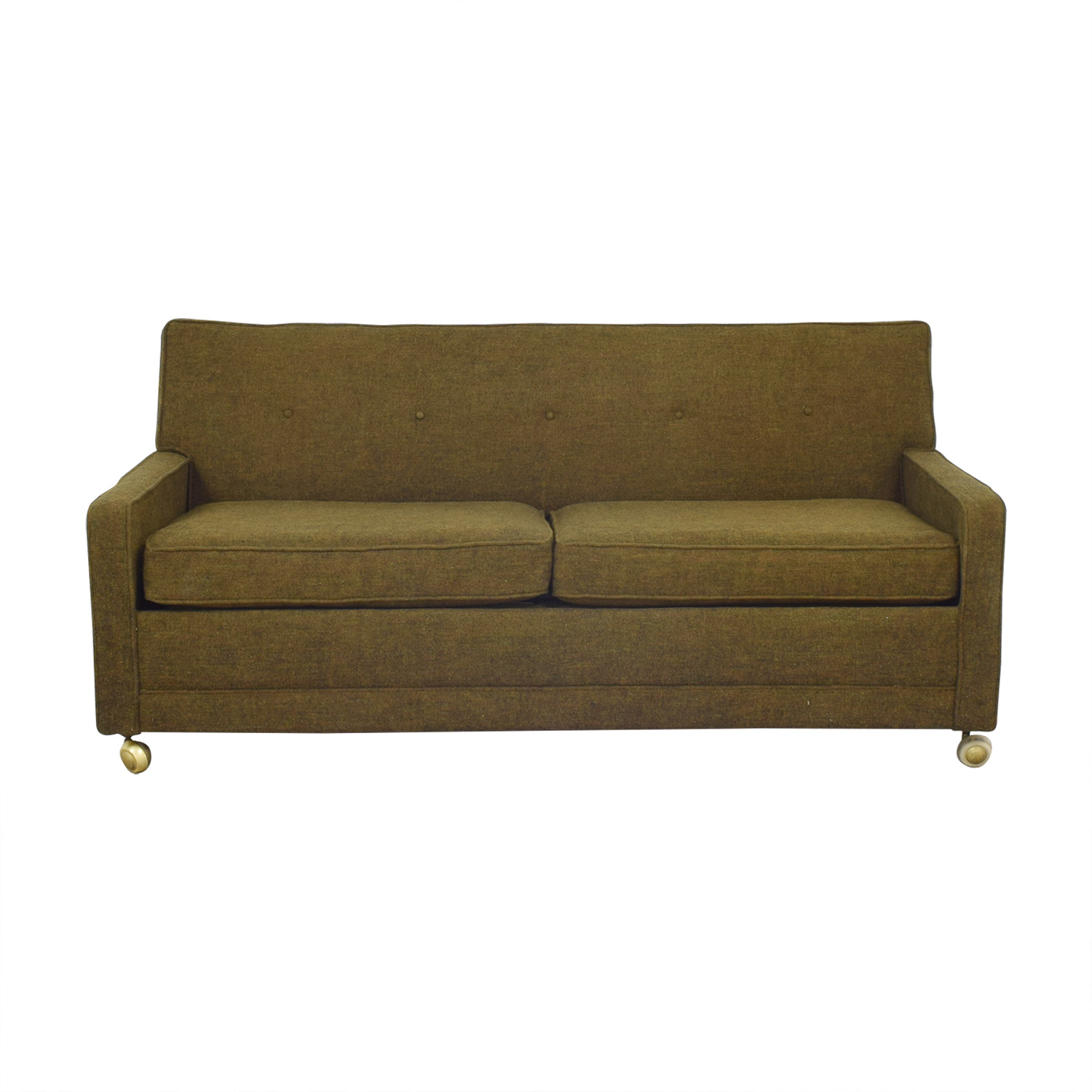 shop Two Seater Sofa Bed on Casters  Sofas