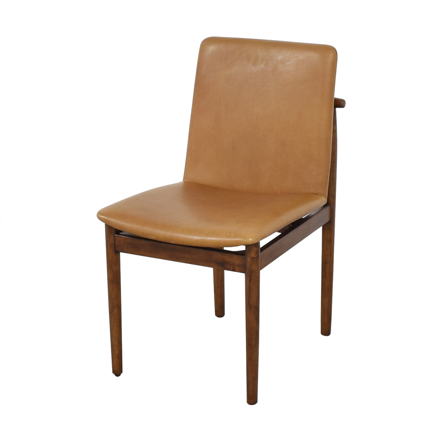 West Elm Framework Leather Dining Chairs / Dining Chairs