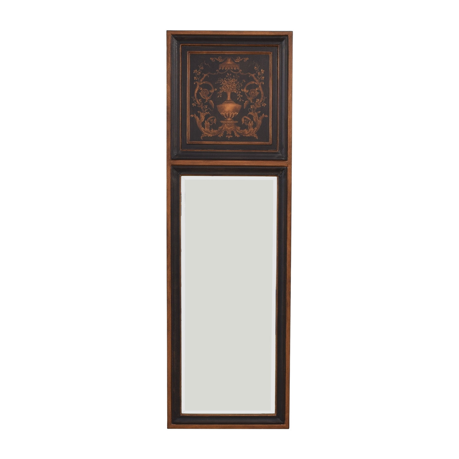 Ethan Allen Ethan Allen Mirror with Top Design second hand