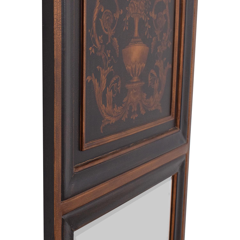 buy Ethan Allen Mirror with Top Design Ethan Allen Mirrors
