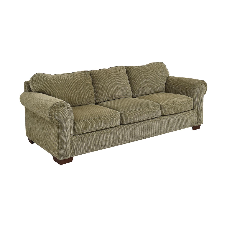 Bauhaus Furniture Bauhaus Three Seat Rolled Arm Sofa Classic Sofas
