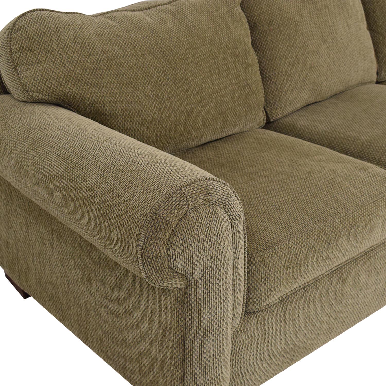 Bauhaus Furniture Bauhaus Three Seat Rolled Arm Sofa nj