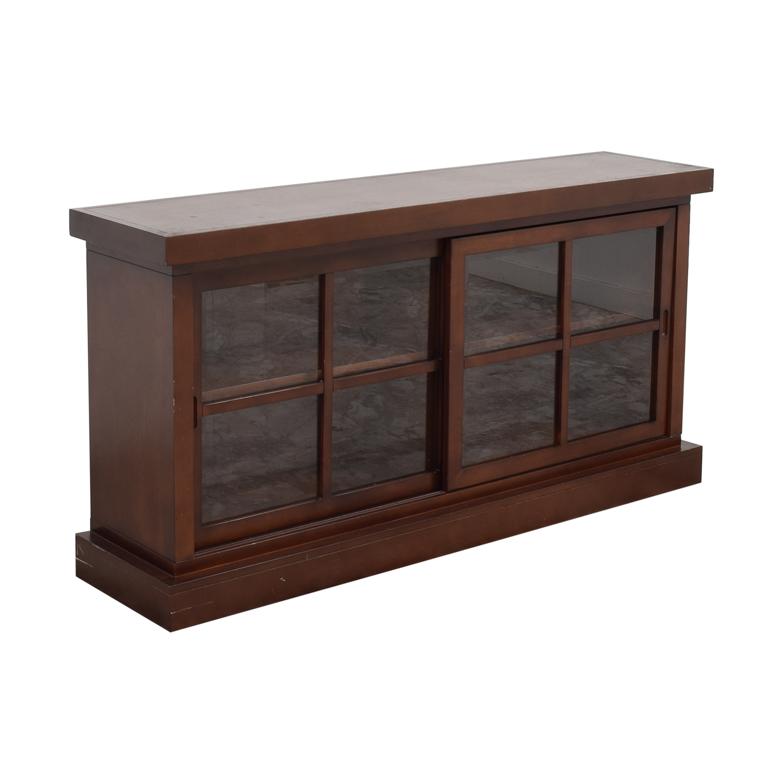 Crate & Barrel Crate & Barrel Sideboard brown