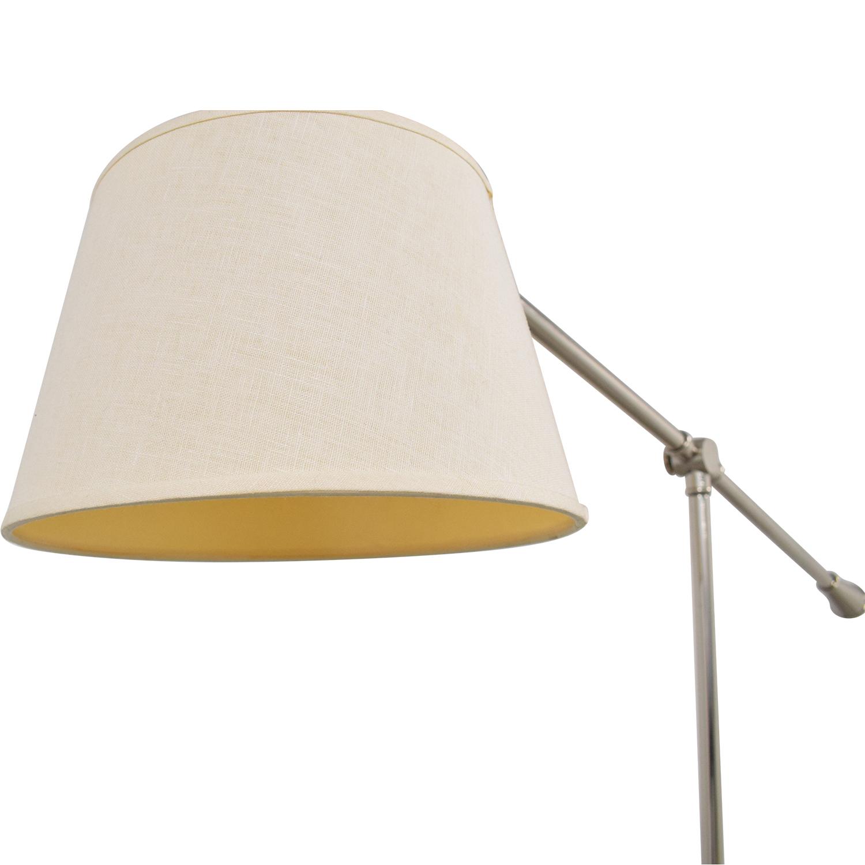 shop Crate & Barrel Adjustable Floor Lamp Crate & Barrel