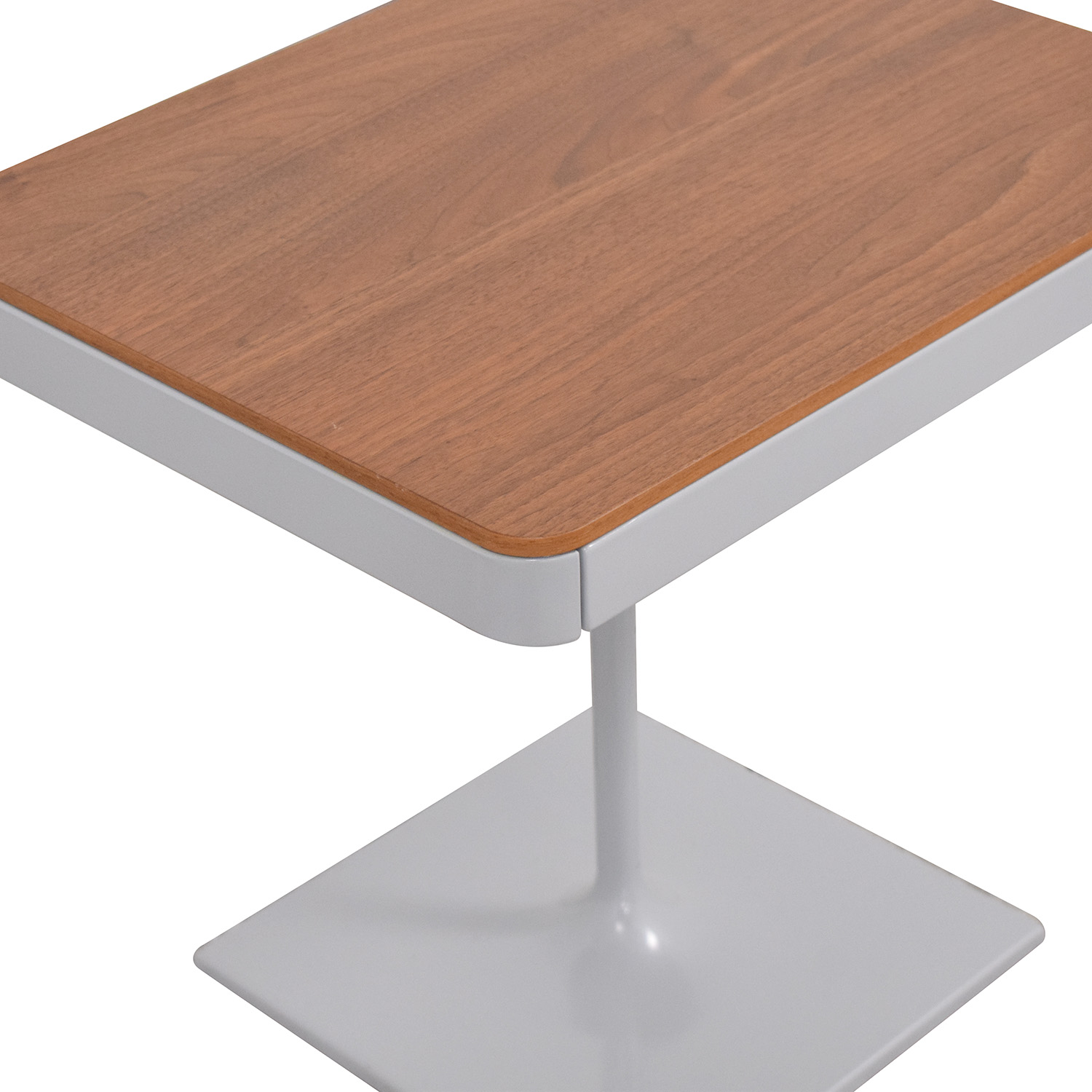 Design Within Reach Design Within Reach Min Bedside Table with Pedestal Base discount