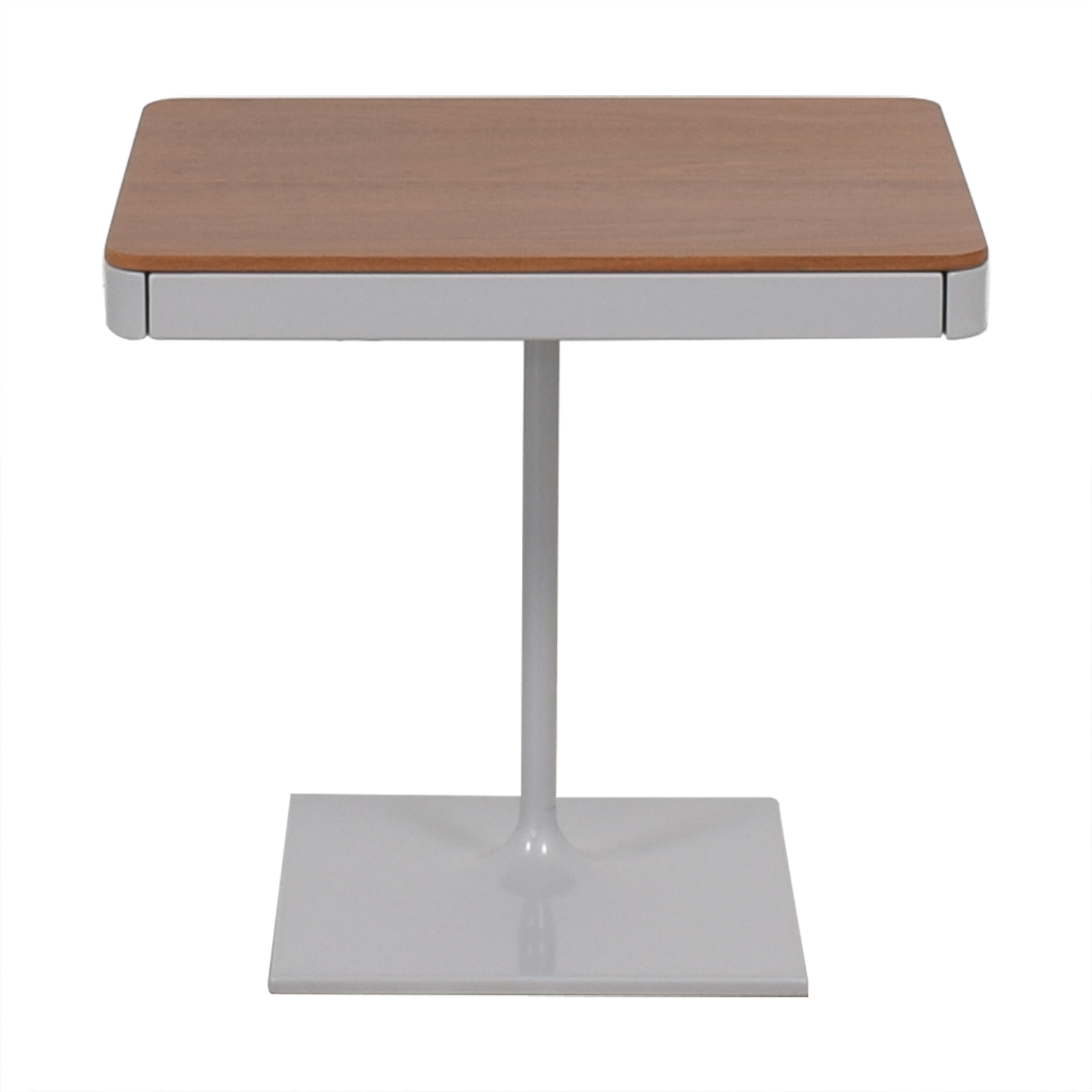 buy Design Within Reach Min Bedside Table with Pedestal Base Design Within Reach Tables