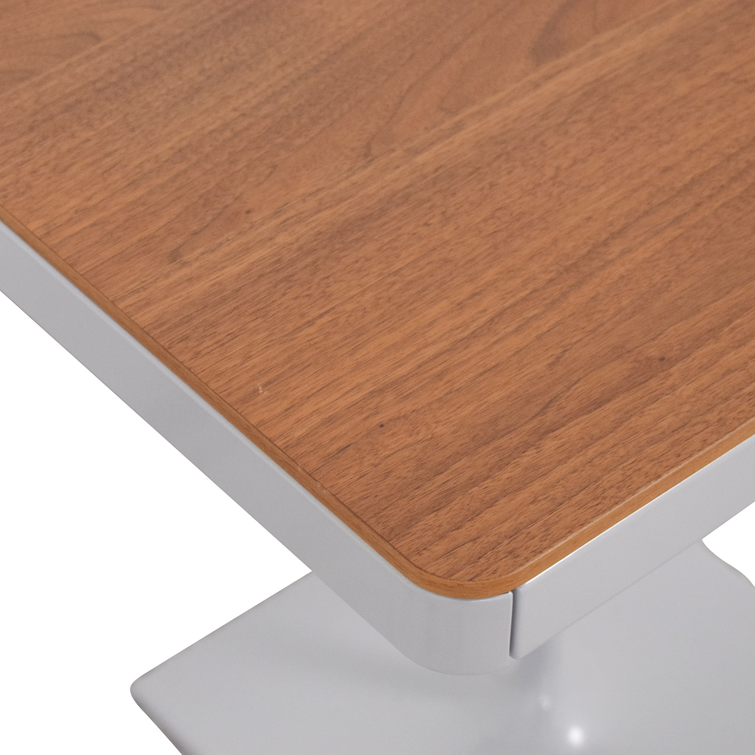 Design Within Reach Design Within Reach Min Bedside Table with Pedestal Base for sale