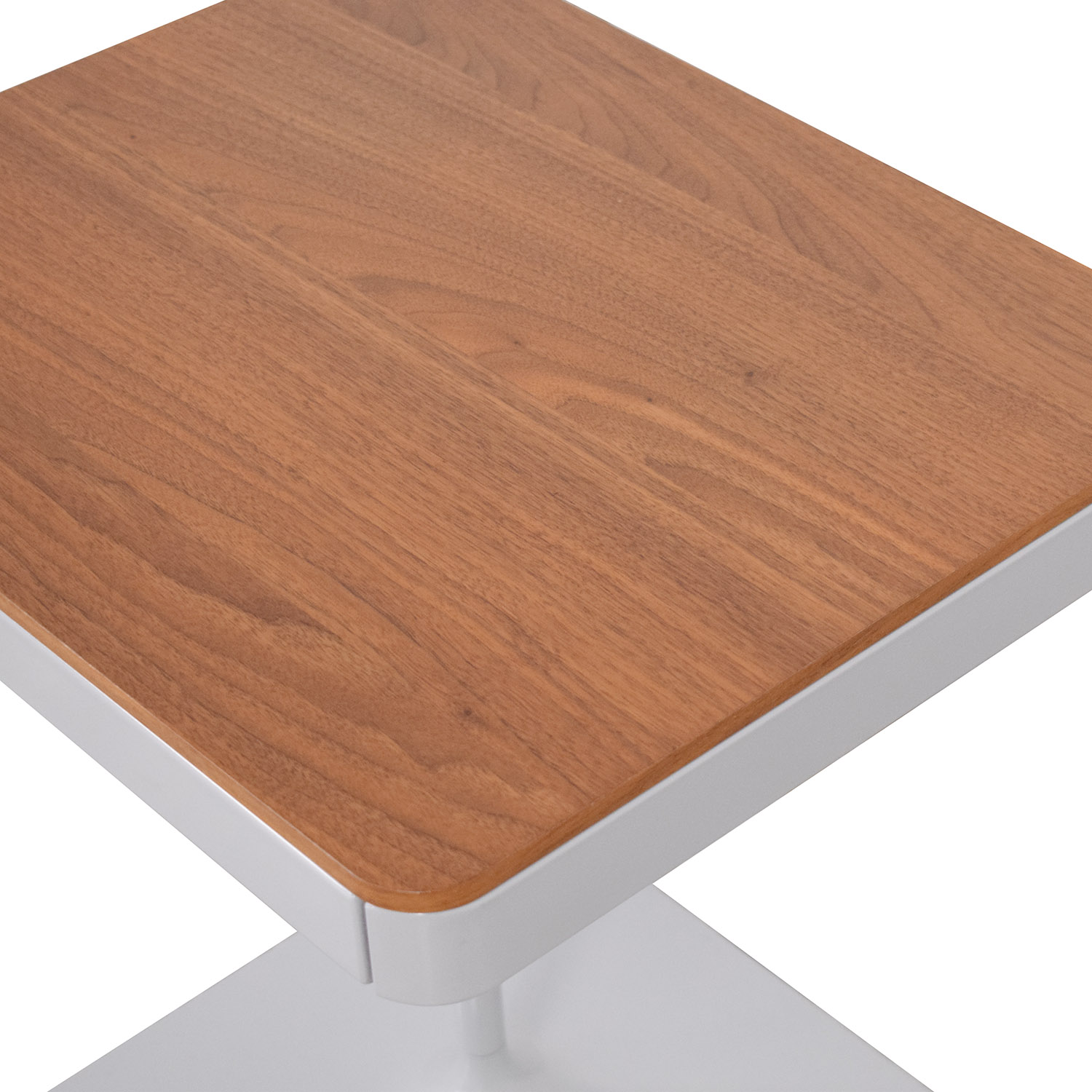 Design Within Reach Design Within Reach Min Bedside Table with Pedestal Base Tables