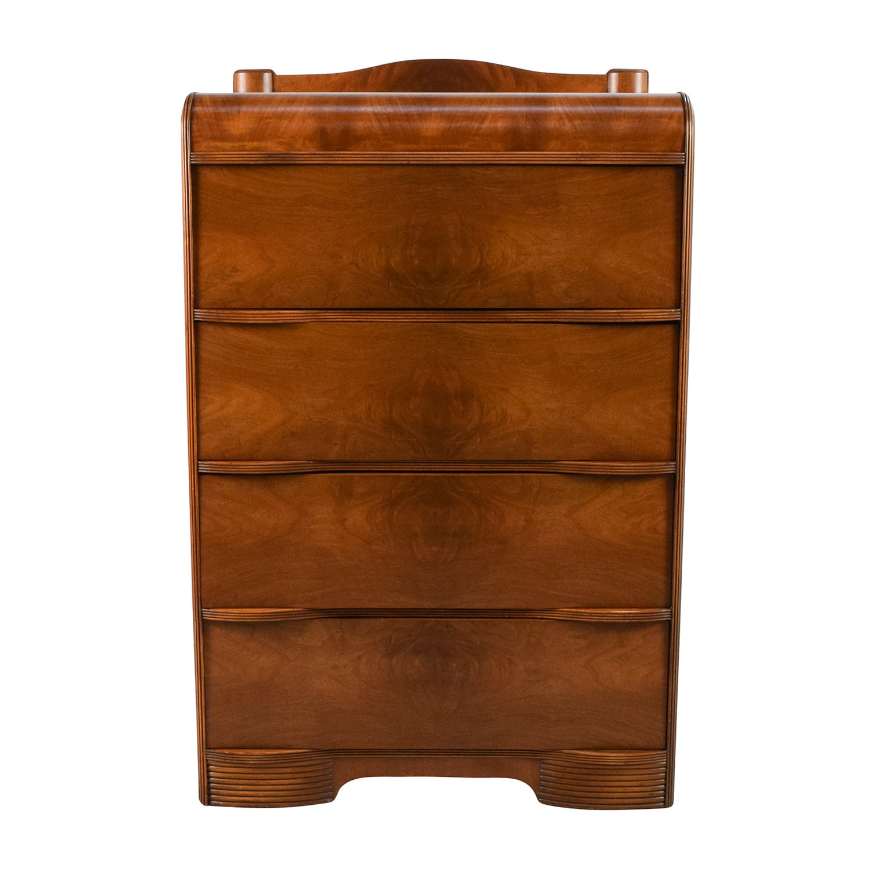 Fantastic 53 Off Art Deco Custom Made Waterfall Dresser Storage Download Free Architecture Designs Momecebritishbridgeorg