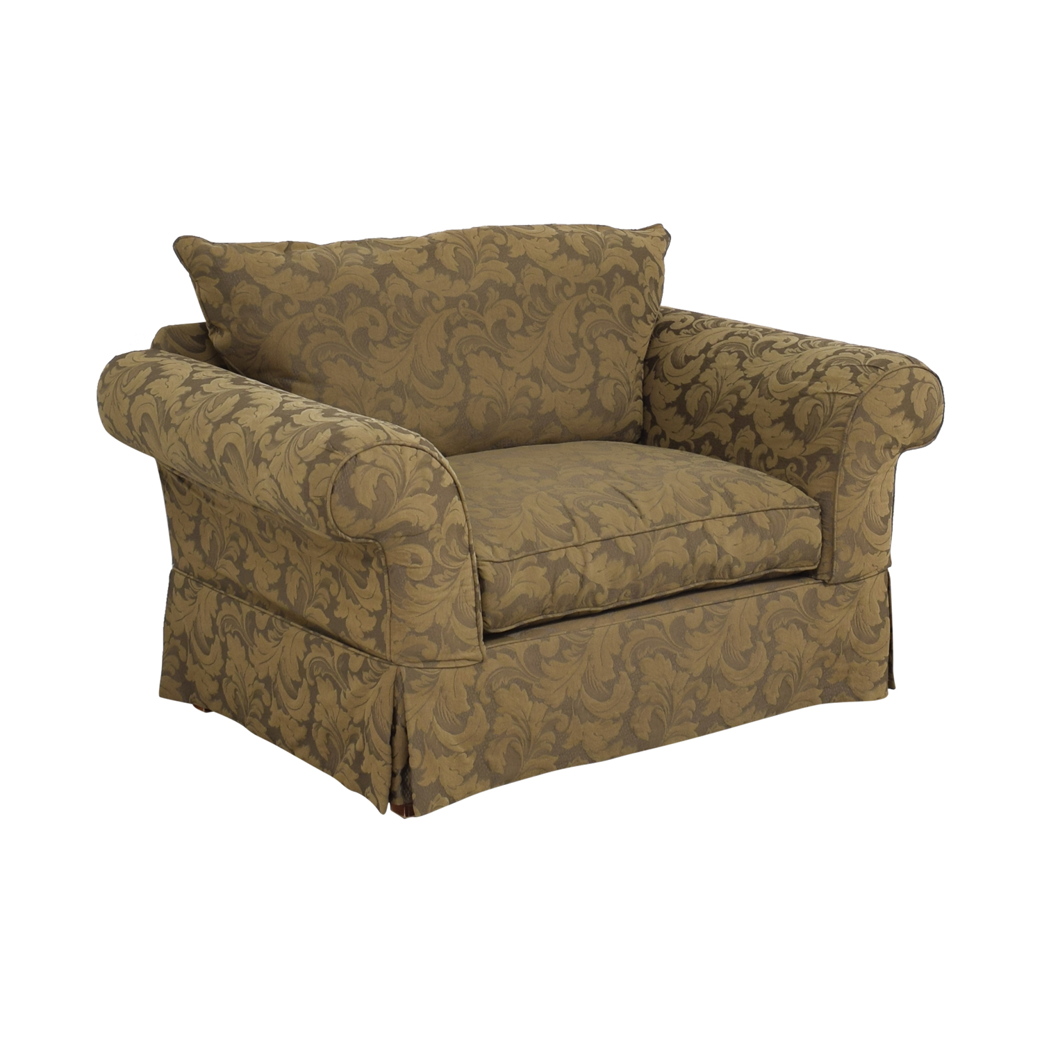 buy Hickory Hill Oversized Chair and Ottoman Hickory Hill Accent Chairs
