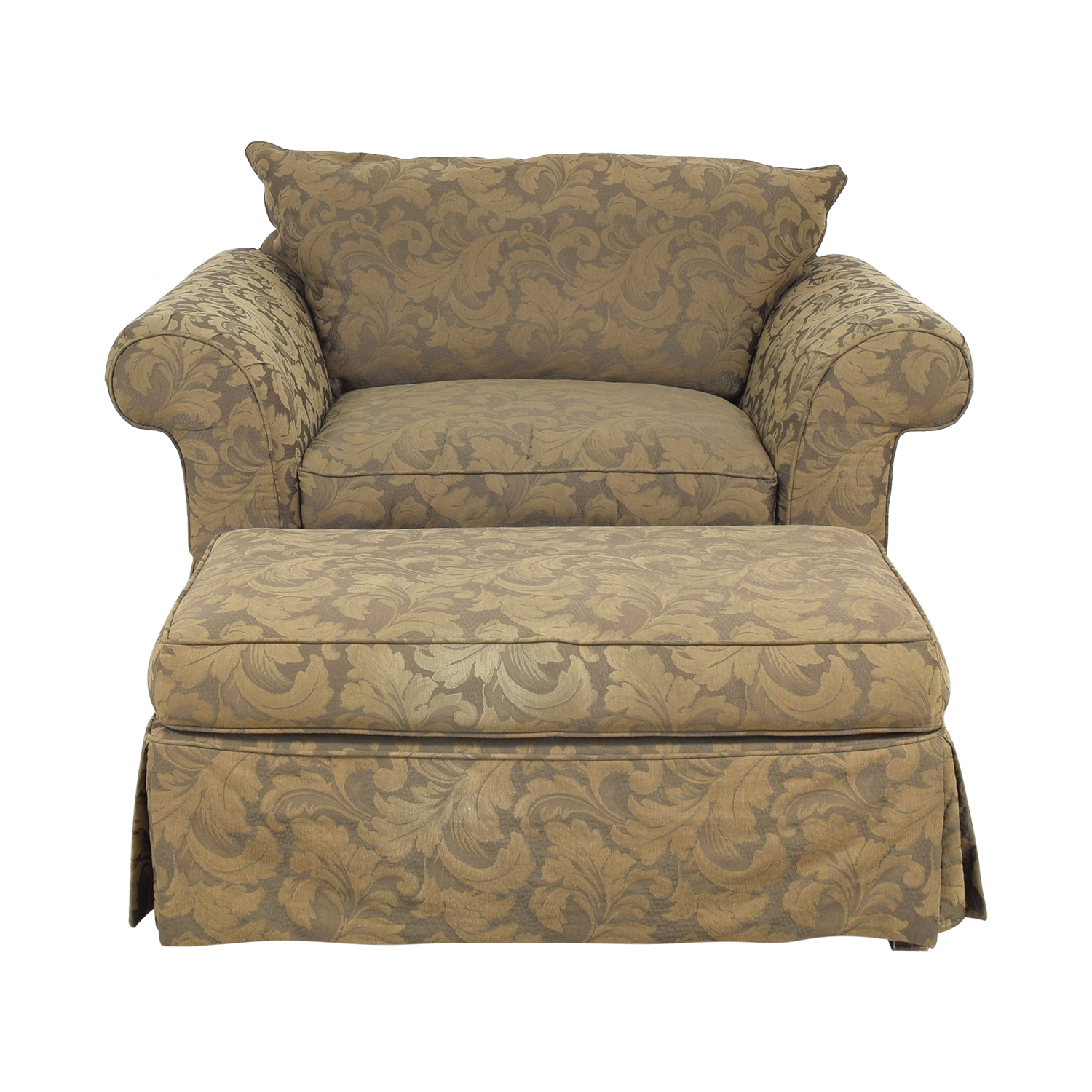 shop Hickory Hill Hickory Hill Oversized Chair and Ottoman online