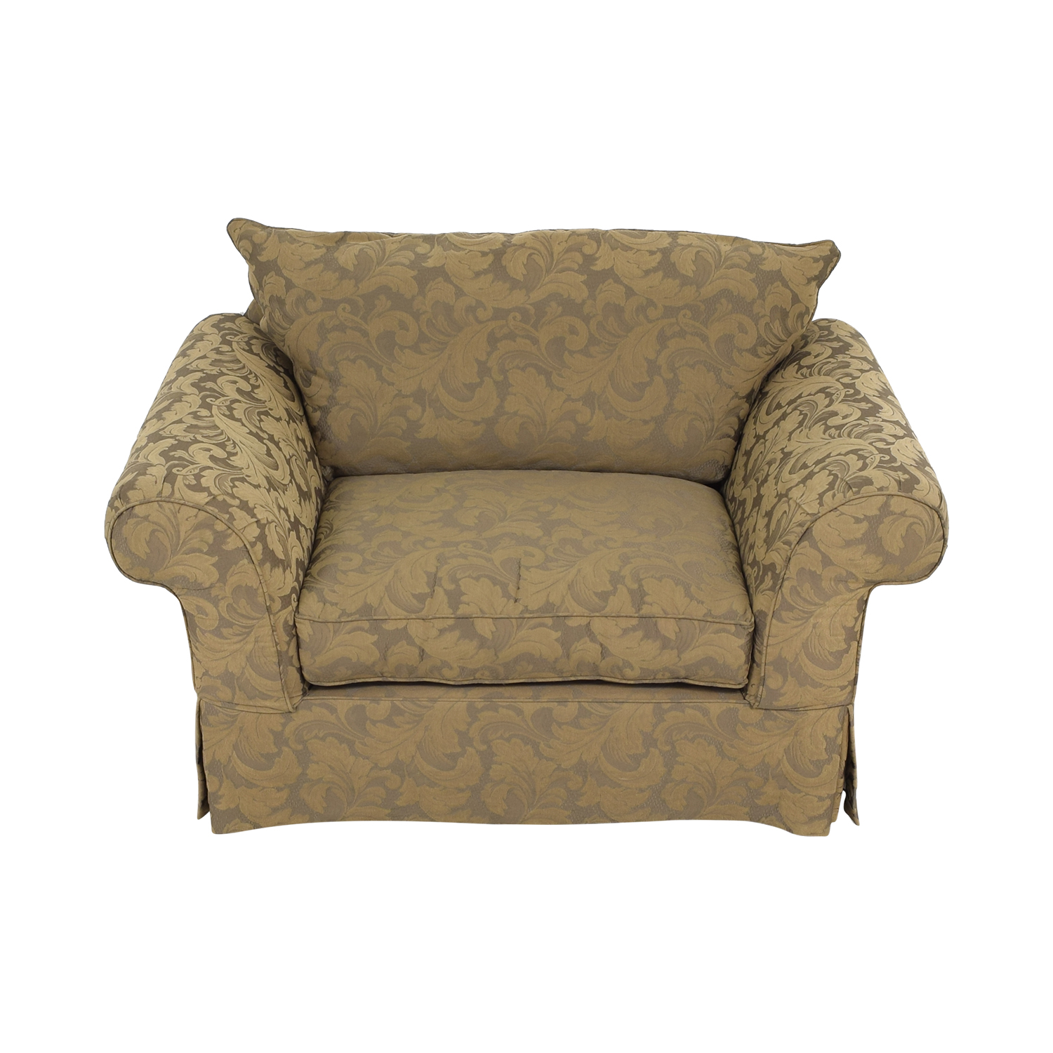 shop Hickory Hill Oversized Chair and Ottoman Hickory Hill Accent Chairs