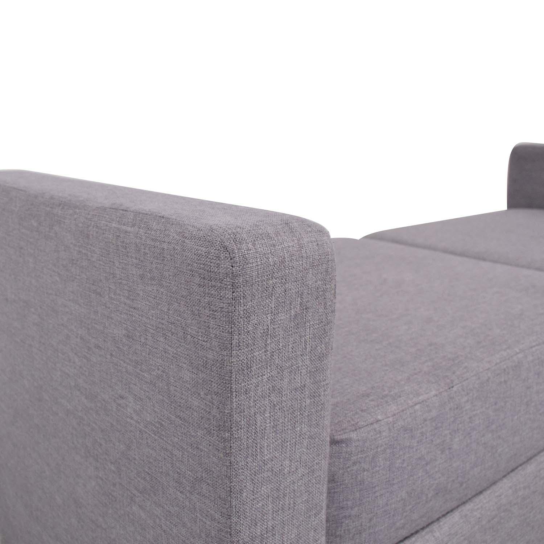 Breda Modern Backless Daybed Sofa nyc