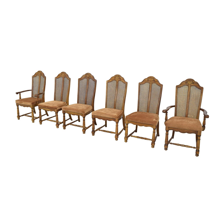 Huffman Koos Huffman Koos Cushioned Dining Chairs ma