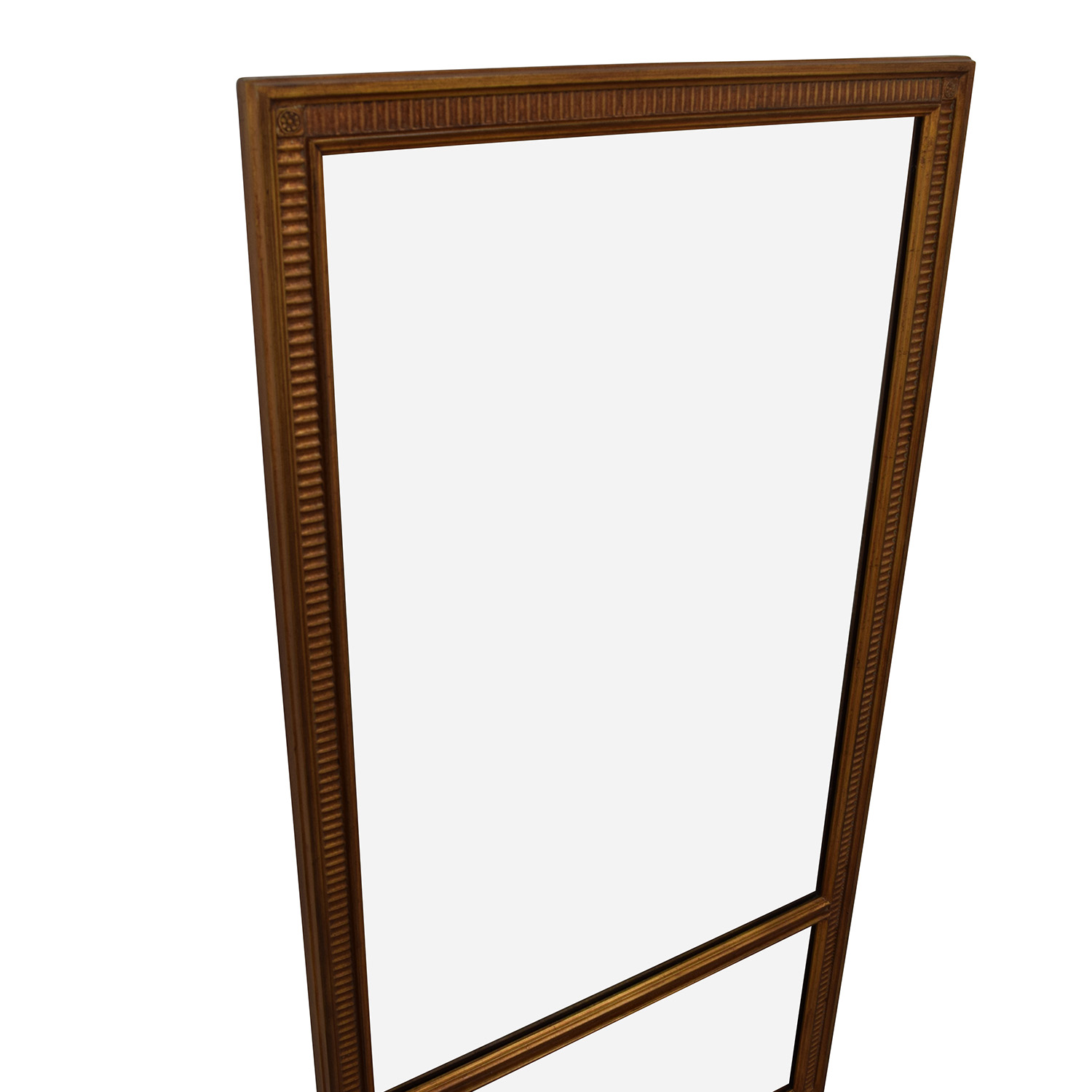 76 off distressed copper oversized mirror decor for Oversized mirror