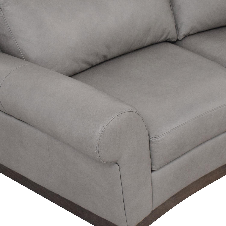 Elite Leather Company Curved Sofa / Sofas