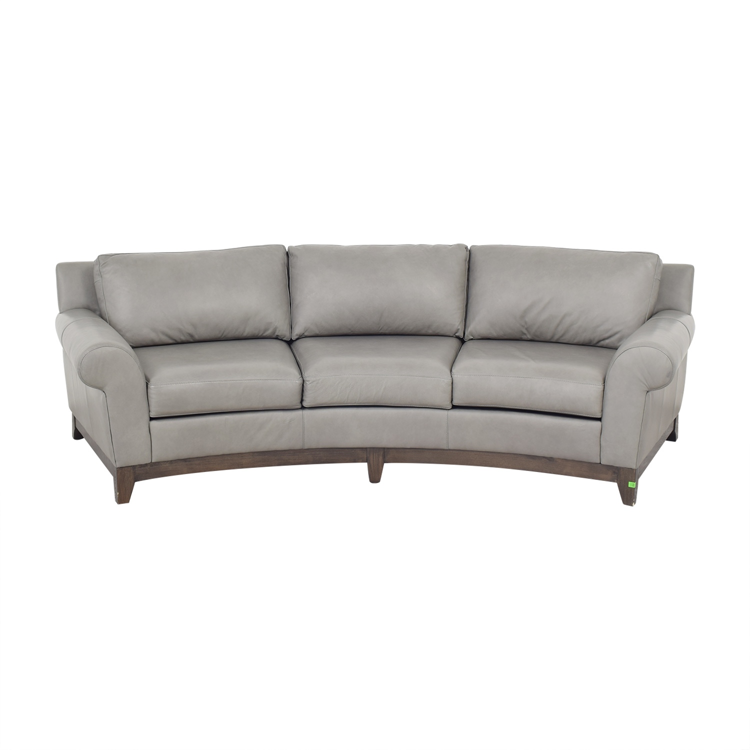 Elite Leather Company Elite Leather Company Curved Sofa ct