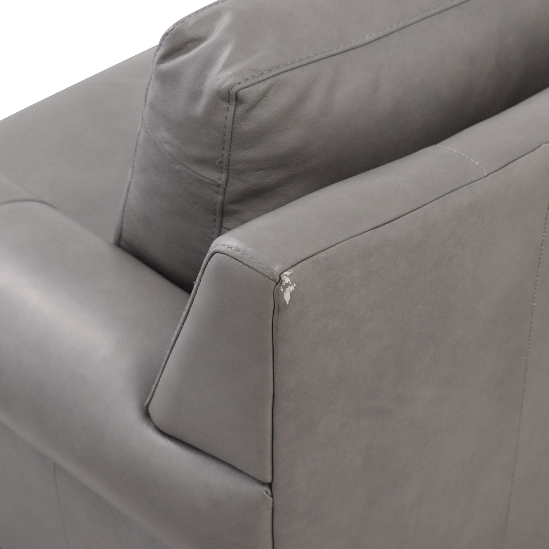 buy Elite Leather Company Curved Sofa Elite Leather Company Sofas