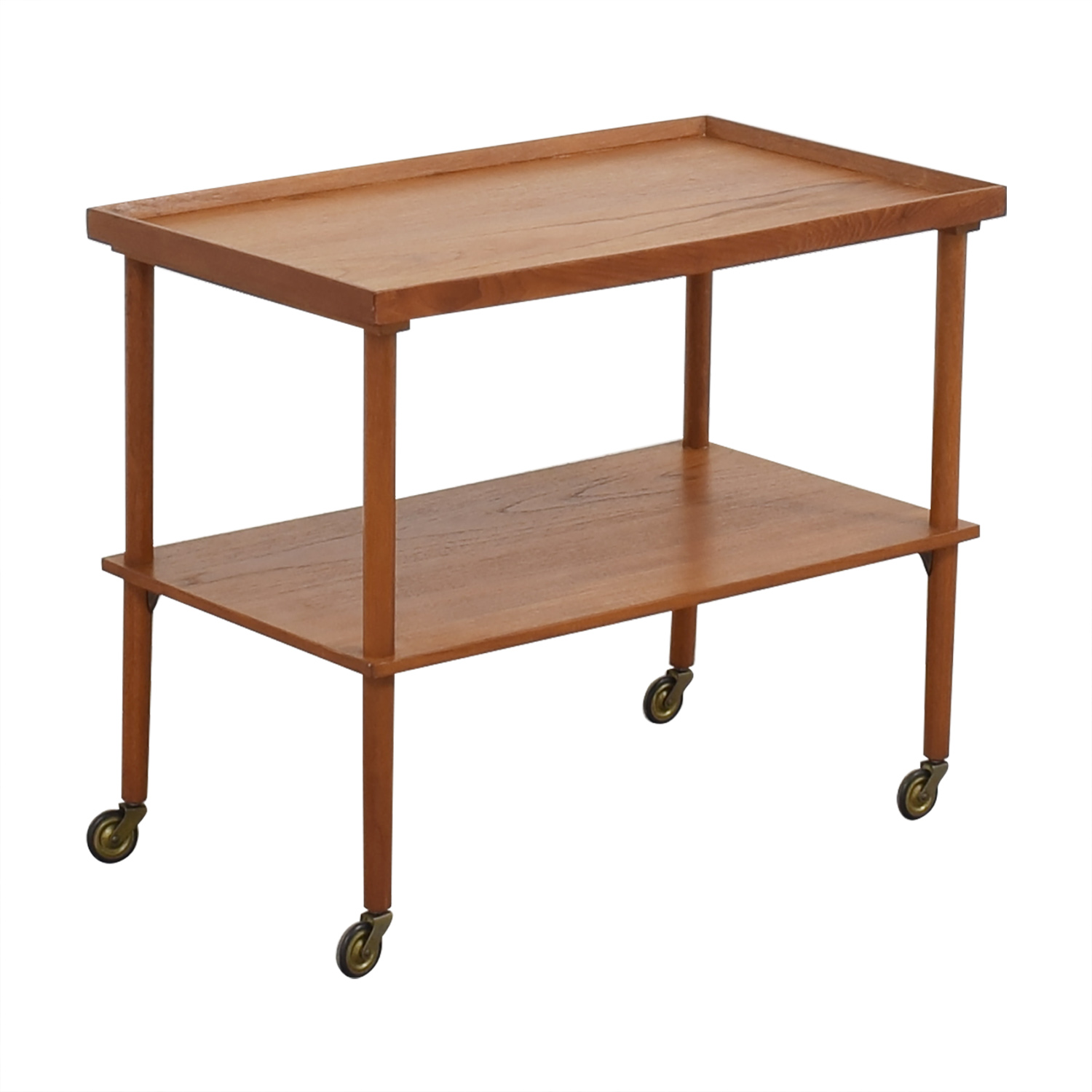buy Mid Century Modern Wooden Bar Cart  Tables