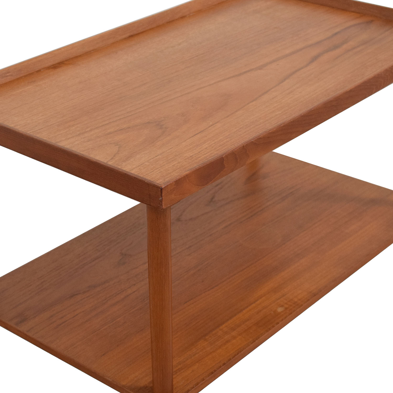 Mid Century Modern Wooden Bar Cart price