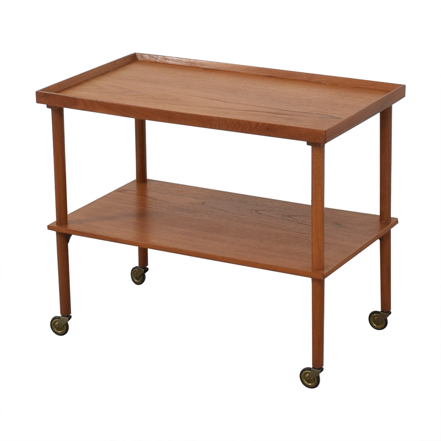 shop Mid Century Modern Wooden Bar Cart