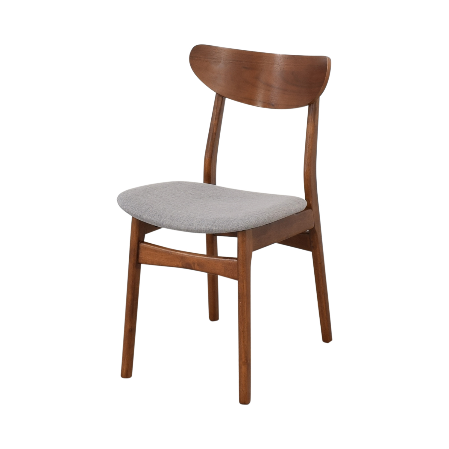 West Elm Classic Café Upholstered Dining Chairs West Elm