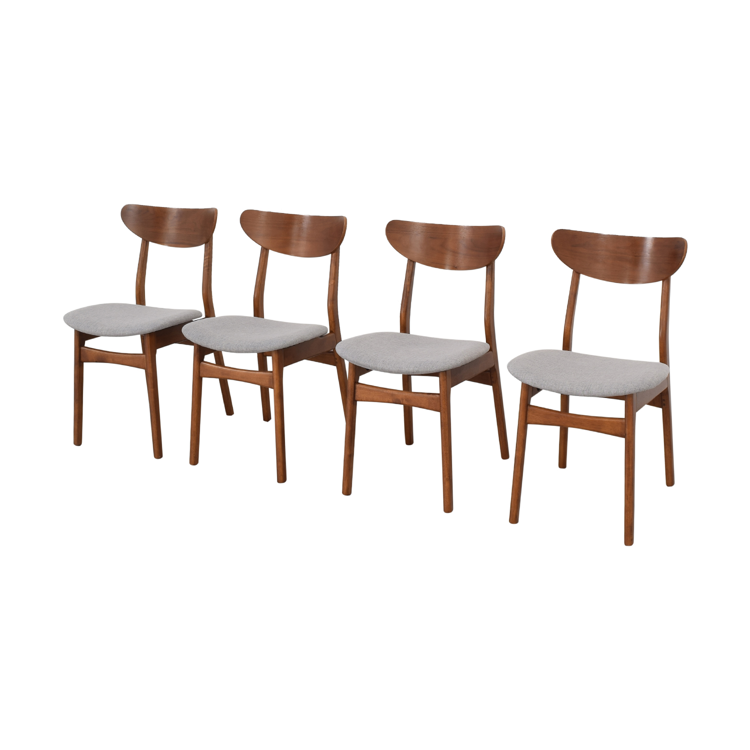 buy West Elm Classic Café Upholstered Dining Chairs West Elm Chairs