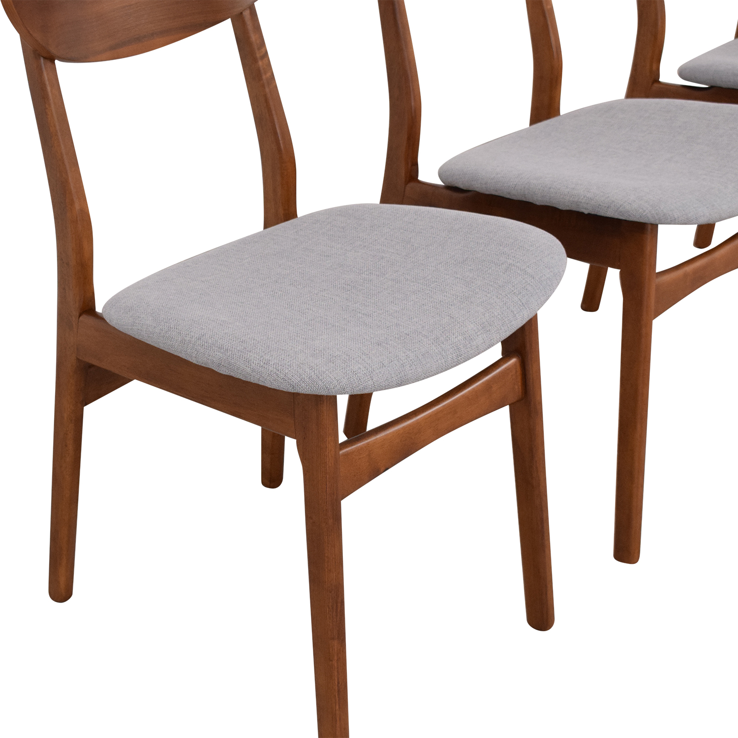 West Elm West Elm Classic Café Upholstered Dining Chairs