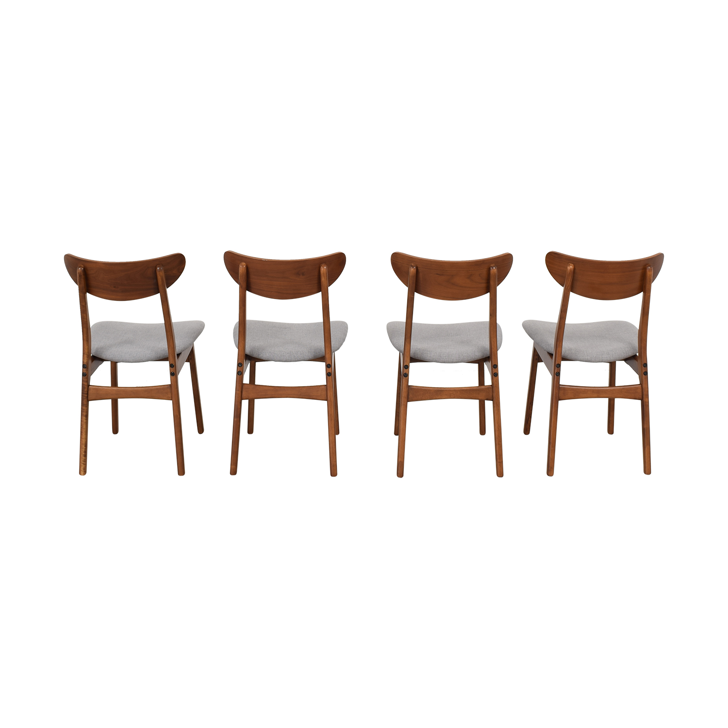 buy West Elm Classic Café Upholstered Dining Chairs West Elm