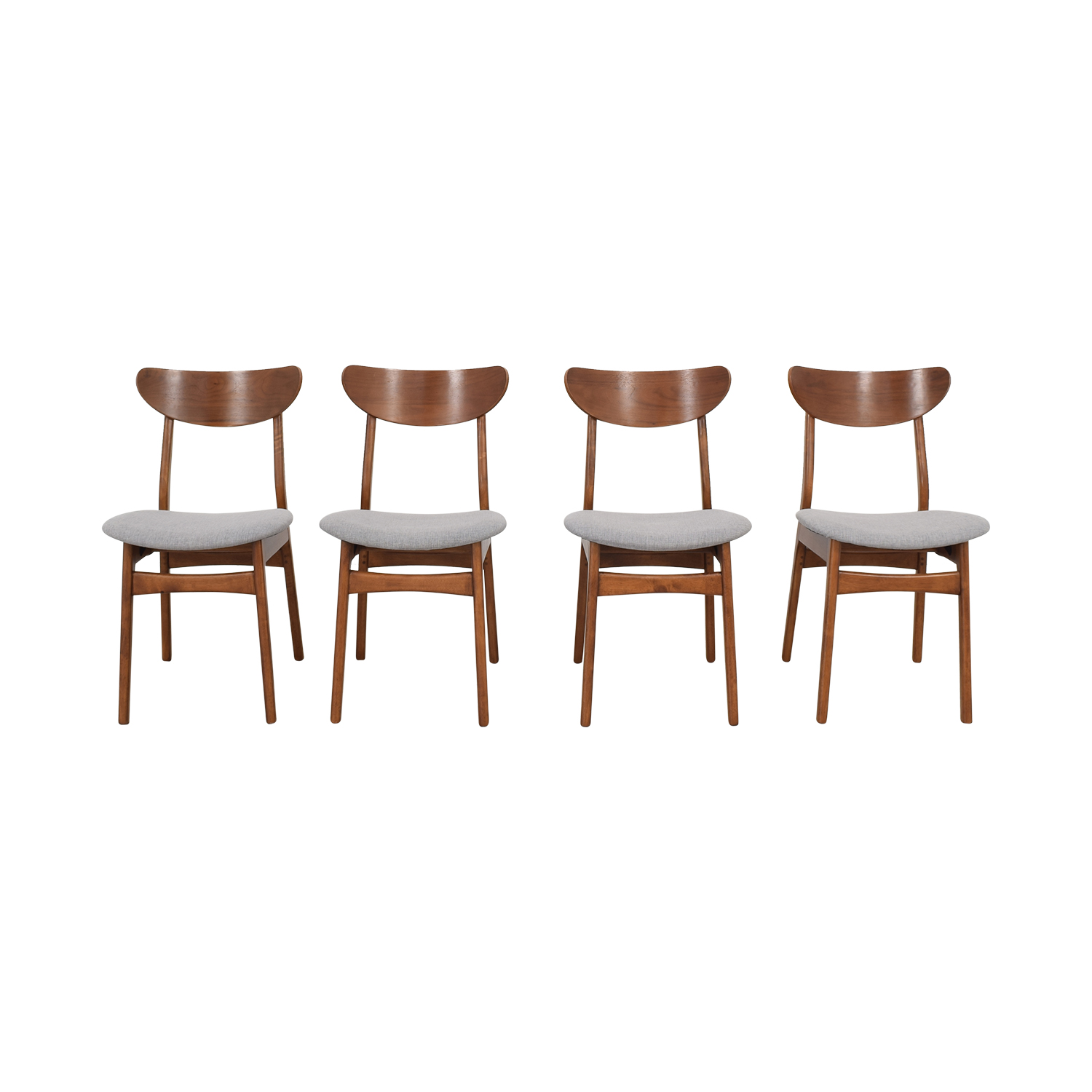 West Elm West Elm Classic Café Upholstered Dining Chairs coupon