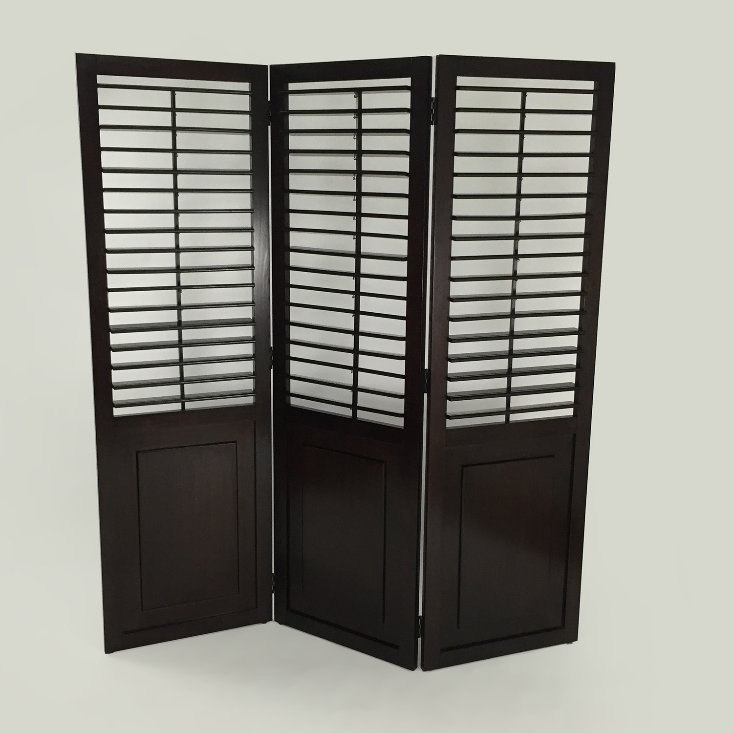 Custom 3 Panel Wood Divider on sale