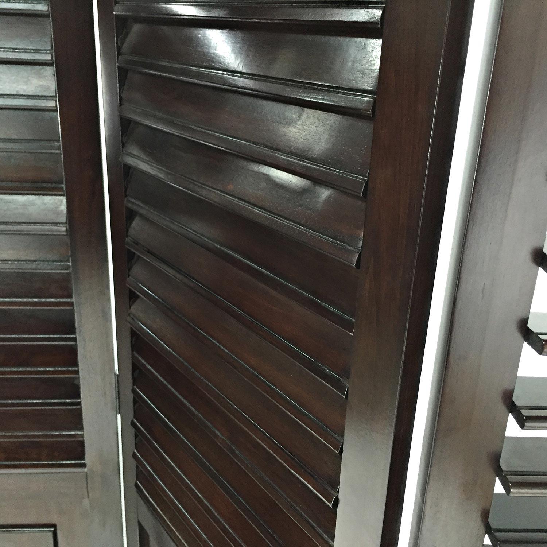 shop Custom 3 Panel Wood Divider online