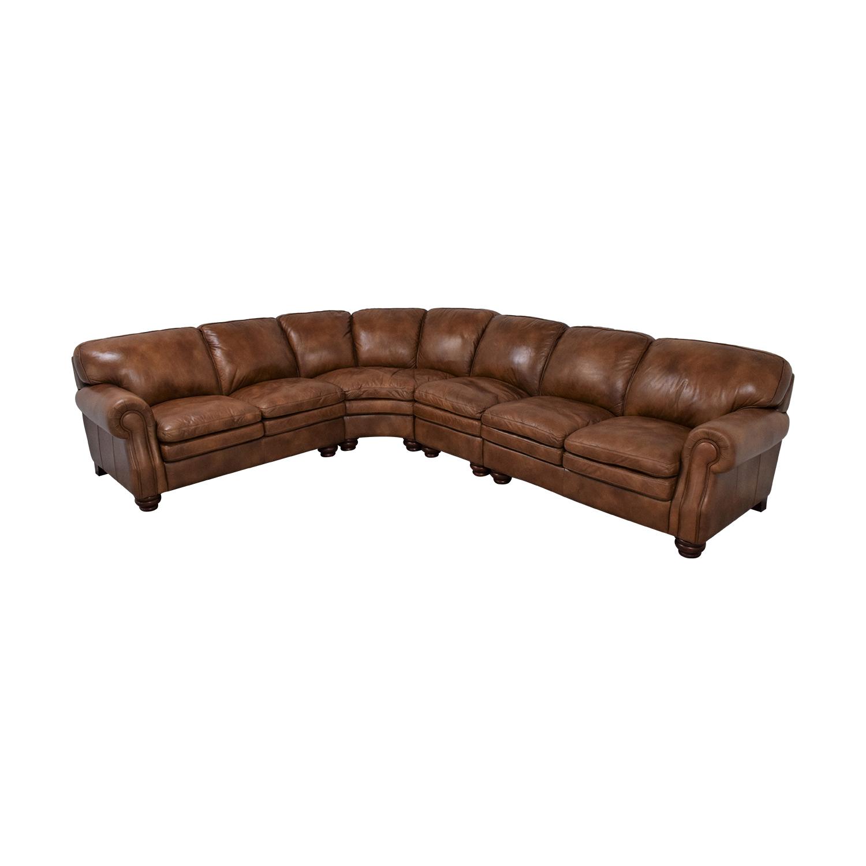 La-Z-Boy La-Z-Boy Stationary Sectional Rolled Arm Sofa nyc