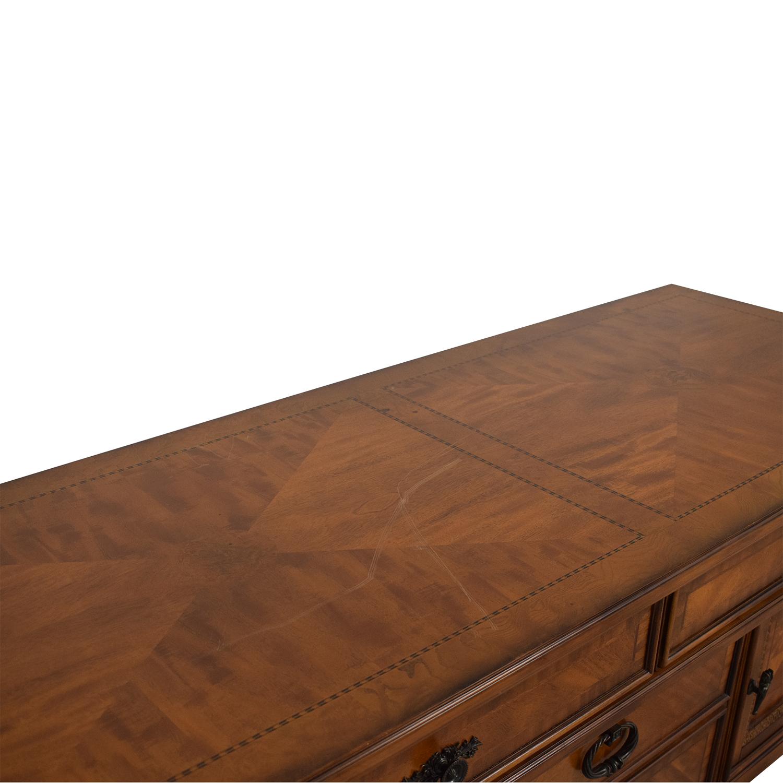 buy Bassett Four Drawer Credenza Bassett Furniture Storage