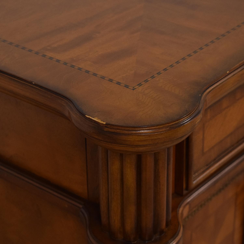 buy Bassett Four Drawer Credenza Bassett Furniture Cabinets & Sideboards