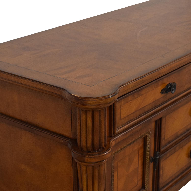 Bassett Furniture Bassett Four Drawer Credenza ct