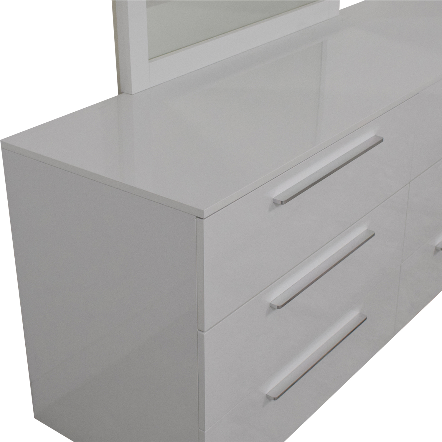 Modern 6-Drawer Dresser with Mirror coupon