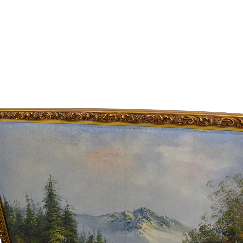 shop Mountain Landscape Framed Wall Art