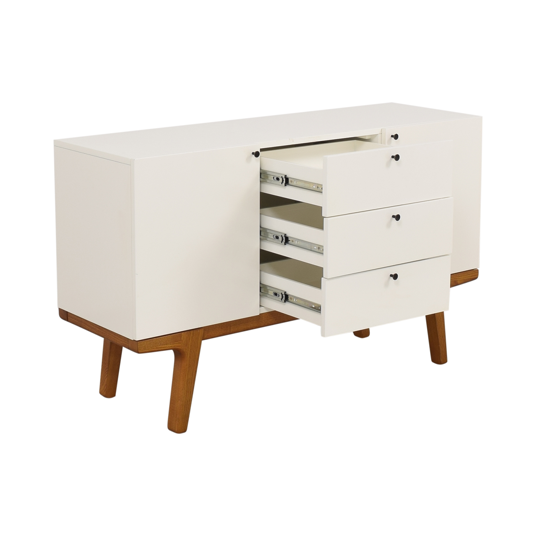 West Elm West Elm Modern Buffet Media Console Cabinets & Sideboards