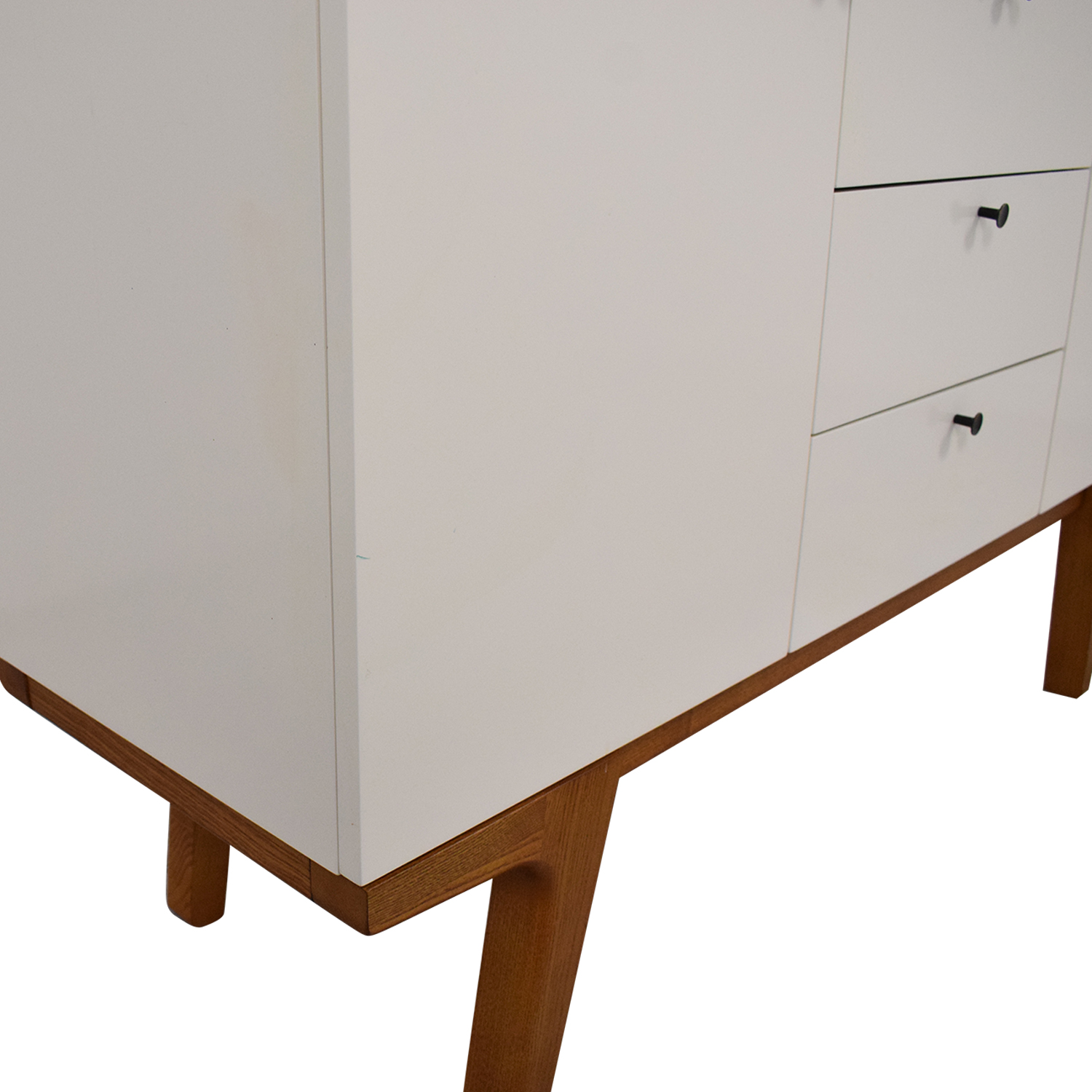 West Elm Modern Buffet Media Console / Cabinets & Sideboards